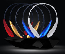 Wholesale Bluetooth Wireless headset HBS hbs900 earphones sports headphones hbs800 headphones cell phones head Stereo mic For iphone Samsung s7