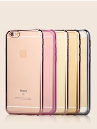 Wholesale Cheap 5s Cases - Cheap Cell Phone Cases for Iphone 5 5s 6 6S 6Splus Best Colorful Gold Plated Mobile Phone Case for iPhone