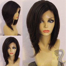Malaysian Full Lace Wig Glueless Short Bob Full Lace Wig Lace Front Wig With Baby Hair For Black Women