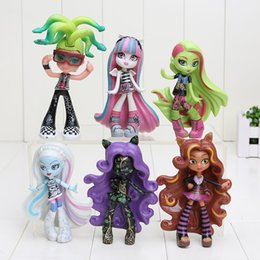 Wholesale High School Dolls cm Clawdeen Wolf Abbey Bominable Venus Mcflytrap Rochelle Goyle Action Figure Doll Toy Christmas Gifts For Girls