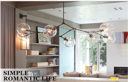 Wholesale Lindsey Adelman Chandeliers lighting modern novelty pendant lamp natural tree branch suspension Christmas light hotel dinning room lighting