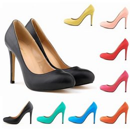 Feminino Fashion Womens High Heels Ladies Pumps Party High Heels Work Shoes US Size 4-11 D0036