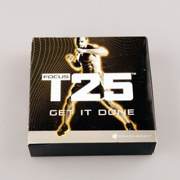Wholesale T25 Workout Gamma Disc Set Boxset US Version fitness dvds New stock