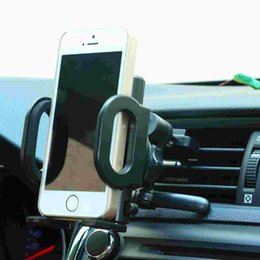 Wholesale Automobile air conditioning port mobile phone support vehicle navigation support multi function universal apple S Samsung