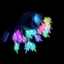 Wholesale New M EU Rgb V Led Polaris Light Led Waterproof String Fairy Lights Party Lighting Christmas Decoration