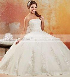 Wholesale New Ball Gown Wedding Dress Organza Party Gowns Unique Design Vestido De Noiva Off the Shoulder Party Bridal Dresses