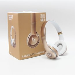 Wholesale Used Wireless beats SOLO Headphones Active Color Wireless SOLO Bluetooth Headset VS Wireless studio A DHL Free