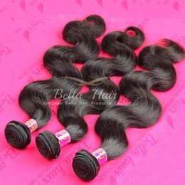 Brazilian Body Wave Human Hair Extensions Bundle Hair Weaves Weft Unprocessed 3pcs Double Weft Peruvian Malaysian Indian Bella Hair 7A