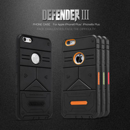 NILLKIN Defender 3rd Gen TPU+PC Army Military Tactic Case for iPhone 6 6s Plus