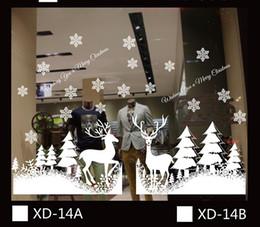 Livraison gratuite Charm Pendants autocollant de mur Autocollants créatifs de décoration de maison de Noël de DIY pour le salon Décoration de fenêtre de magasin de magasin à partir de boutiques de charme fournisseurs