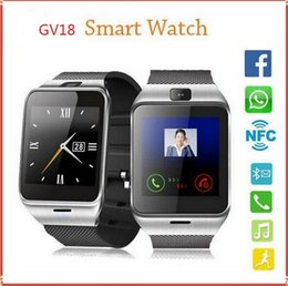 GEAR2 GV18 NFC Aplus Smart Watch With touch Screen Camera Bluetooth NFC SIM GSM Phone Call U8 data sync Waterproof for Android Phone