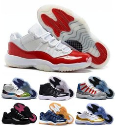Wholesale News Retro Basketball Sneakers Women Men Wihte Retros s XI Low Man Bred Space Jam Shoes