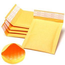 Descuento burbuja de papel kraft La envoltura de los bolsos de la burbuja de Kraft del fabricante de 100pcs / lot al por mayor-Al por mayor envasó los bolsos de papel 11X13cm