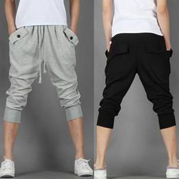 Nice New Men Harem Pants Plus Size XXL Size 28-35 Cotton Blend Loose Casual Fashion Men's Jogging pants Spring&Summer Pant men's C