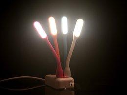 Wholesale Fashion Xiaomi Flexible USB LED Light Power Bank computer small USB Night Light LED lights for Keyboard Best Gift Ideas USB Book Reading Lig
