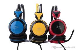 Wholesale DHL NEW YO head mounted headset computer headset game headset headset game headset Internet cafes X EM
