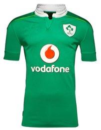Wholesale 2016 ireland rugby jerseys thai quality Ireland shirts home green shirts S XL