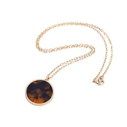 Wholesale Set Auger Circular Leopard Sweater Chain Long Antique Gold Chain Necklace High Quality Best Fashion Jewelry