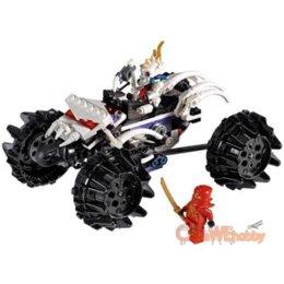Wholesale 1 Box Bela Ninjago serie ATV battlefield Minifigure Building Block Compatible With Lego LR