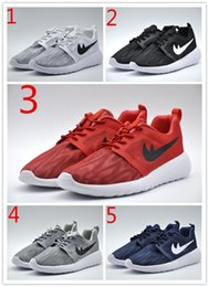 Wholesale Roshe One GS Flight Weight Running Shoes Men Women Honeycomb Mesh Lightweight Breathable ROSHEONE Training Shoe Outdoor Sport Shoes
