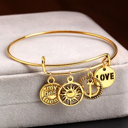 Retro style adjustable charms bangle bracelet jewelry fashion temperament alloy bracelet leaves flowers accessories anti allergy bangle
