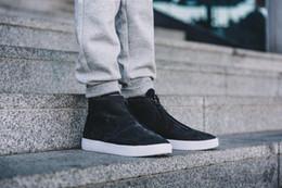 Wholesale SZ Autumn Hot Casual Sneaker Lab Zipper Fashion Flat Black Genuine Leather Shoes Lab Blazer Advanced Premium
