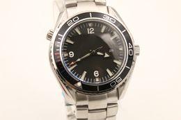 Hot SALE new watch men stainess steel planet ocean james bond automatic movement watches men dress wristwatches