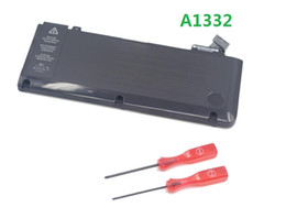 Wholesale 10 V Wh Laptop Battery For Apple A1322 MacBook Pro Black Laptop Battery A1331 A1382 A1405 A1406 A1495 A1493 A1437 good quality