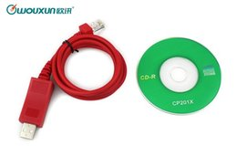 Wholesale Wouxun USB Programming Cable Software CD Computer Programming Interface Support Win8 For Car Radio KG UV920P KG UV950P