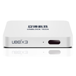 Wholesale New GB Unblock Tech Gen Plus TV Android Box Set Top IPTV UBOX Chinese Hong Kong Japan Korea TV Channel S900