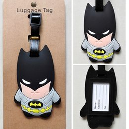 Wholesale DC Comics Batman Q character cm Plastic Luggage Tag Name Bag New