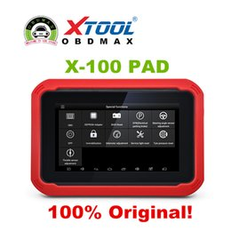 Wholesale 100 Original XTOOL X100 PAD Same Function as X300 X100 Pad Auto Key Programmer with Special Function Update Online X300 pro
