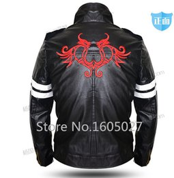 Wholesale Prototype Alex Mercer Game Anime Faux Leather Jackets Hallowmas Clothing Cosplay Costume Coat S XL NEW