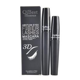 Qibest 3D FIBER LASHES MASCARA Set Makeup lash eyelash waterproof double mascara VS unique 5103 5223 BY dhl(0605093)
