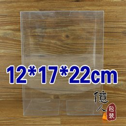 Wholesale Clear Display Packaging Gift Boxes - 10 pcs lot12*17*22cm clear package box   plastic shoe packing box   display case   gifts & crafts   cases & display   100% guar