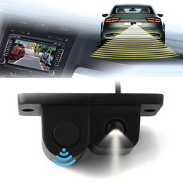 Wholesale 2in1 LCD SUV Car Reverse Parking Radar Rear View Backup ã Wide Angle Camera Kit Auto Rear View Camera CAL_00B