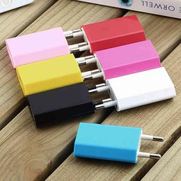 Wholesale Top Quality Cost Price V mah US EU Plug AC Power Adapter Home Wall Charger Charge For Apple iphone Samsung HTC LG Blackberry