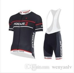Wholesale 2015 Focus cycling jersey pro bicycle wear cycling wear lycra cycling jersey quick dry shirt cycling bibs set