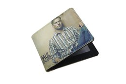 Wholesale 2016 Fashionable Great Look Paul Walker Wallet Limited Edition Unisex Short Wallet Card Holder Bag Have Stock In UK