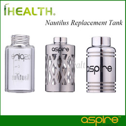 Aspire Nautilus Replacement Tank Replacement Glass Tube Hollowed-out Sleeve Stainless Steel Replacement Tank for Nautilus tank 100% Original