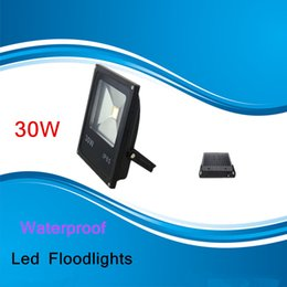 Wholesale Waterproof outdoor floodlight W Waterproof Thin material Led Floodlights Warm Cool White IP65 Led Flood Lights V