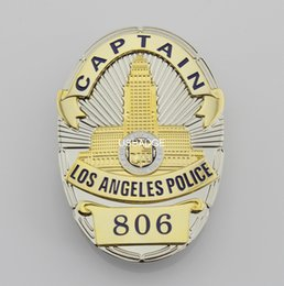 Wholesale US LAPD CAPTAIN BADGE Brass