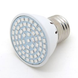 Wholesale Full spectrum LED Grow light W SMD E27 lamp bulb for Flower plant Hydroponics system AC V Grow Box