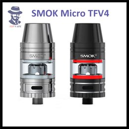 Wholesale 100 Authentic Smok Micro TFV4 Tank MM Designed to Offer Three Types of Heating Cores for Different Vaping Needs