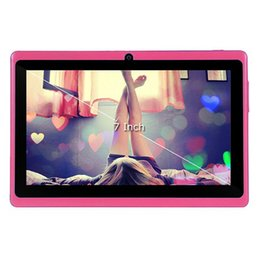 Wholesale 7 Inch Tablet PC Q88 MB G Android mAh Battery WiFi Quad Core GHz android tablet HD IPS Dual Camera