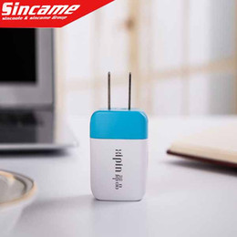 500PCS AC Power Adapter US Plug USB Wall Travel Charger US EU Adapter for iphone 4 5 5S for Samsung Galaxy Cellphones Multi-color