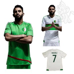 Wholesale NEW Top Thai quality ALGERIE algerienne soccer jerseys Algeria shirts football SHIRTS