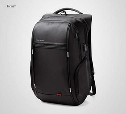 Wholesale Kingsons Brand Antitheft Notebook Backpack inch Waterproof Laptop Backpack for Men Women External USB Charge Computer Bag