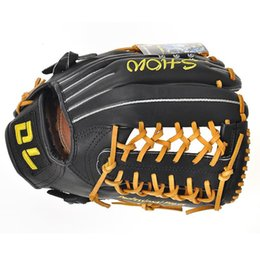 Wholesale RockBros Real Leather quot inch Men Outdoor Team Sports Pro Player Baseball Softball Glove Mitt RHT