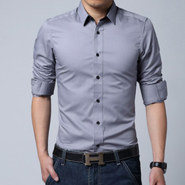 Hot Wholesale men's clothing Christmas Newest Mens Candy Slim Fit Luxury Casual Stylish Dress Shirts free shipping